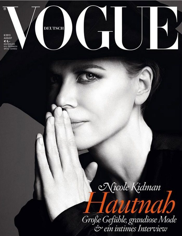 Nicole Kidman Vogue Germany August 2013