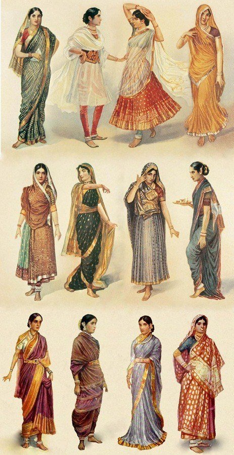 How to wear a sari in different styles Different fashion style groups