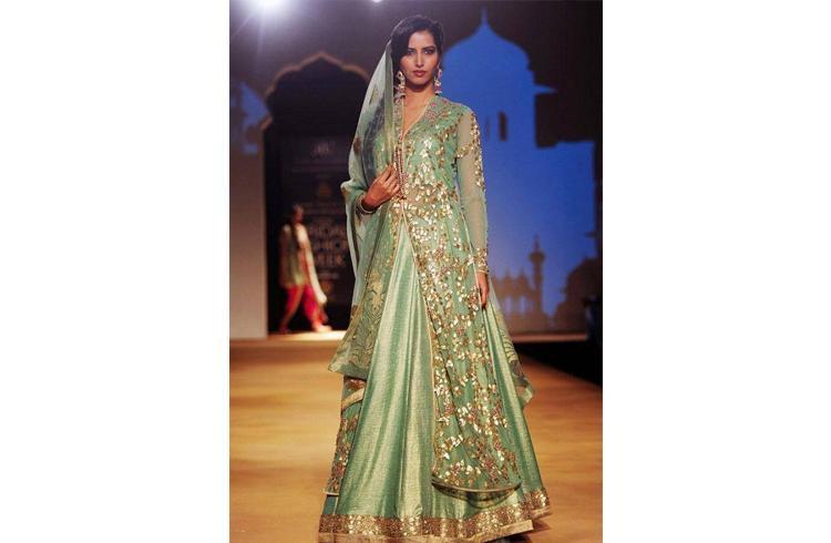 Bridal lehenga style
