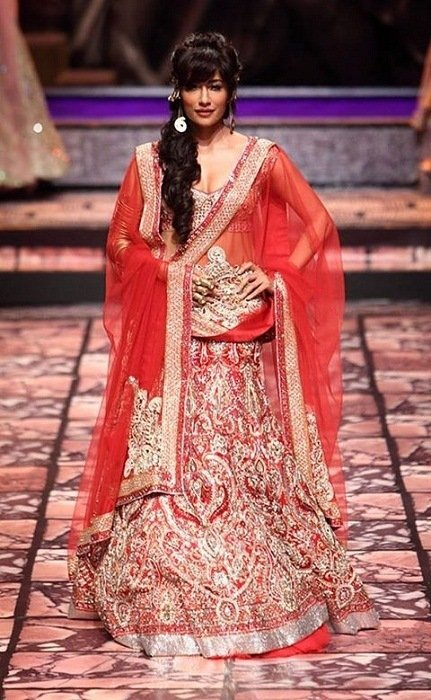 chitranganda singh Suneet Verma bridal fashion week