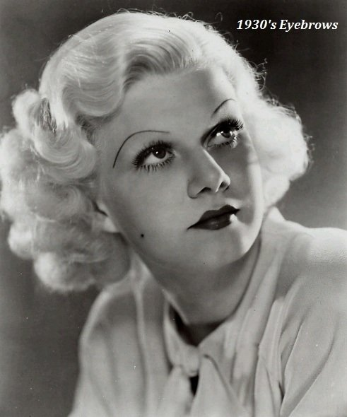 1930's-eyebrows-jean-harlow
