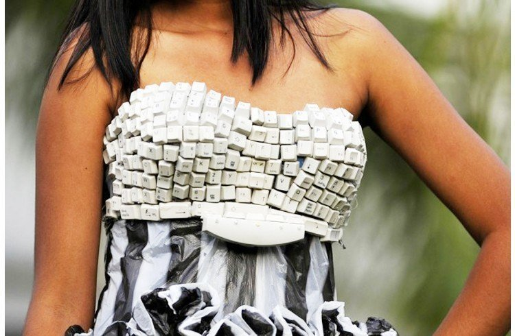 Keyboard dress