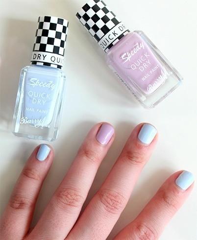 Quick drying nail polish