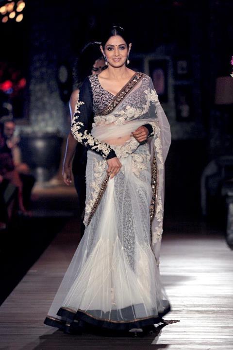 sridevi sabysachi sari delhi couture