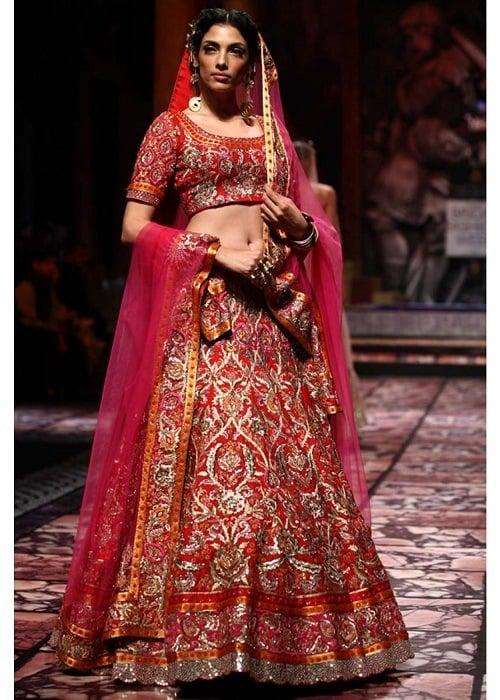 suneet verma bridal collections