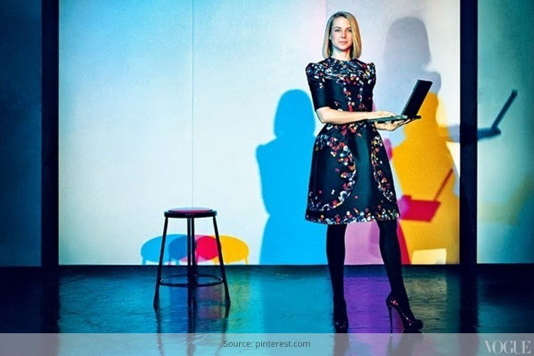 Corporate Fashion of Marissa Mayer