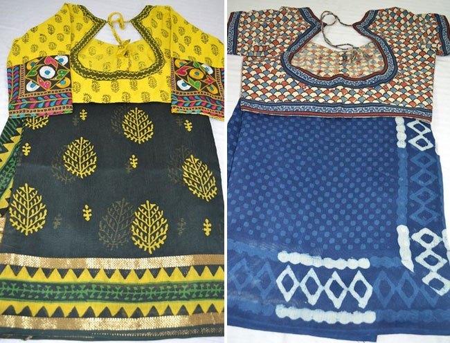 Designer Kutch work blouses