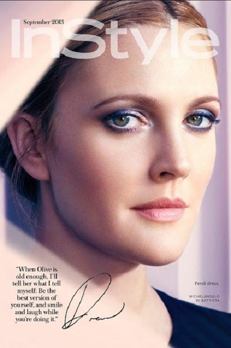 Drew Barrymore In Style September 2013