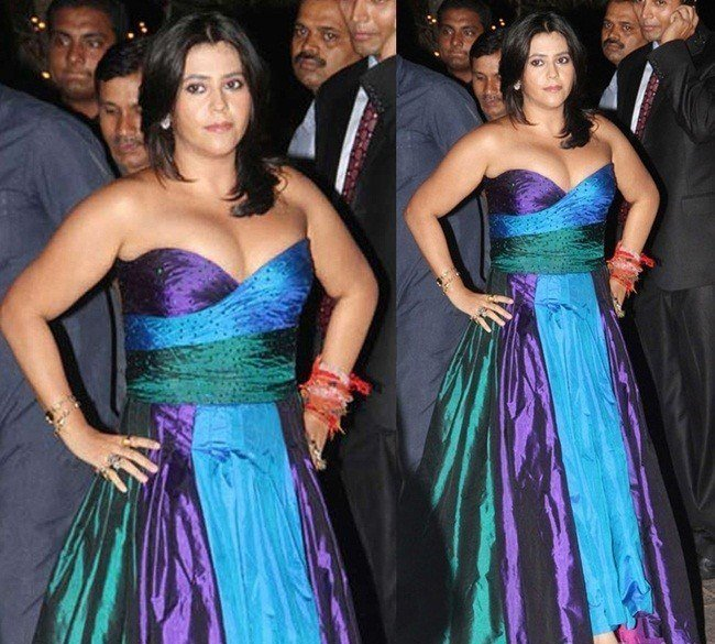 Ekta Kapoor fashion disaster