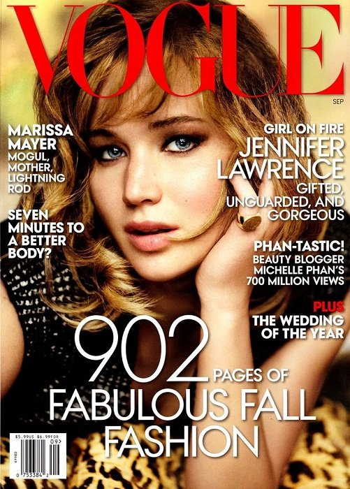 Jennifer Lawrence Vogue September 2013 issue