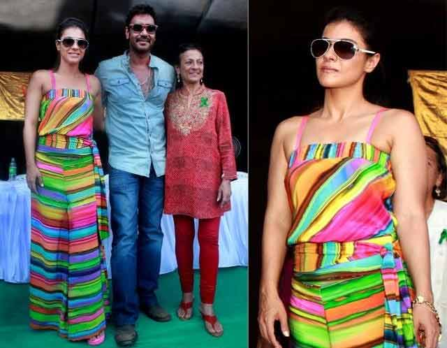 Kajol fashion disaster