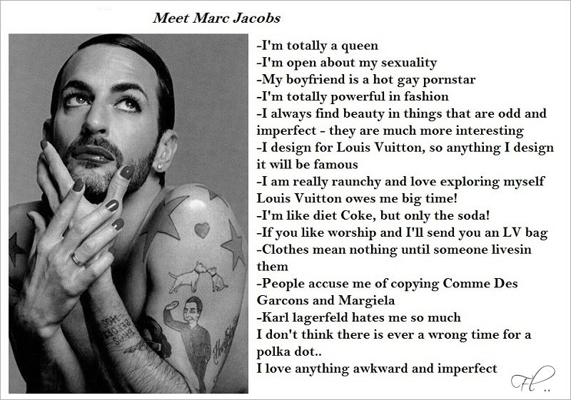 Marc Jacobs Facts