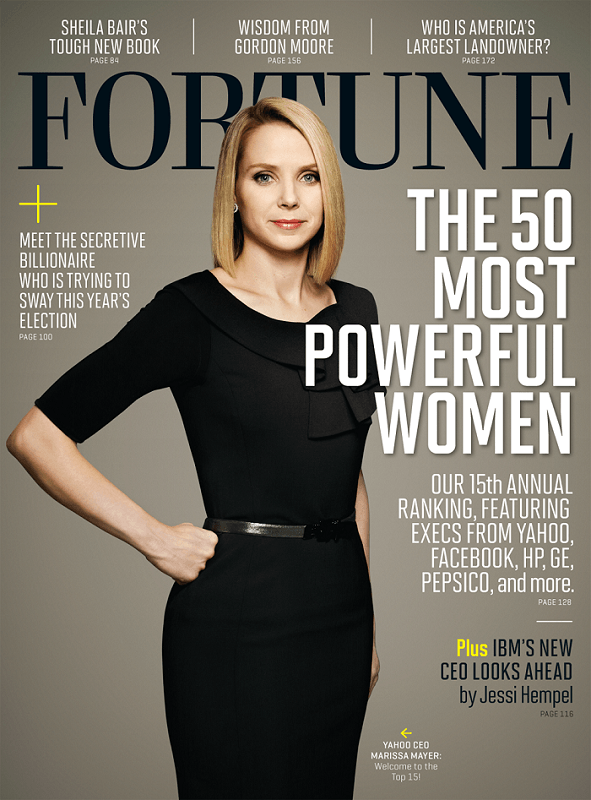 Marissa Mayer - 50 Most Powerful Women in Business