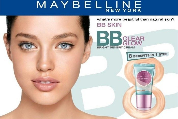 Maybelline Clear Glow Bright Benefit Cream