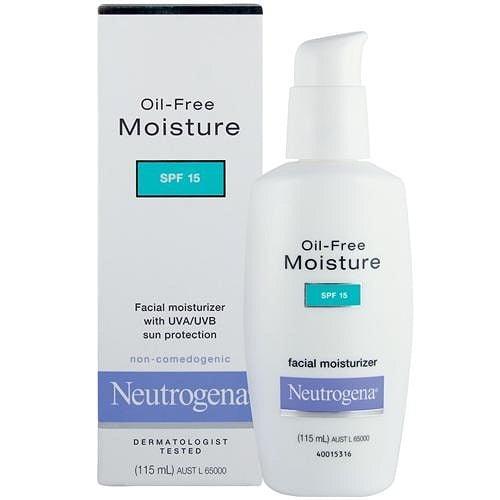 Neutrogena Oil Free Moisturizer for skin
