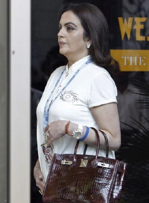 Nita Ambani The Fashionable Corporate India S First Lady
