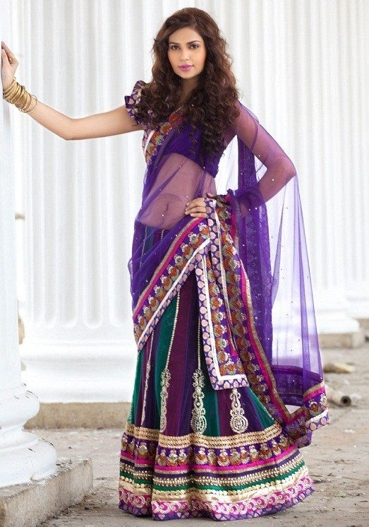 Panel Length Lehenga