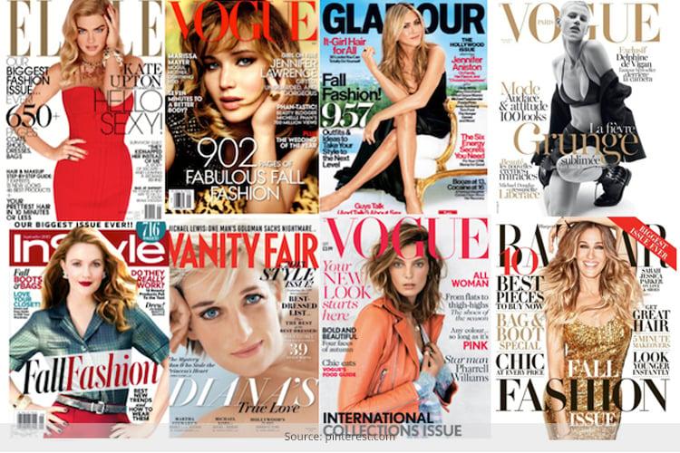 September 2013 Fashion Magazine Covers