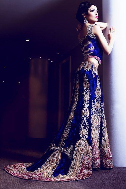 Evening wrap pattern design patterns - What Kind Of Lehenga Will Suit You Well