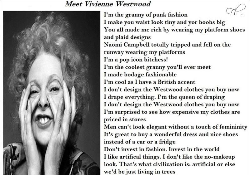 Vivienne Westwood facts