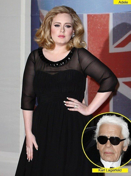 Karl-Lagerfeld-comment-on-adele