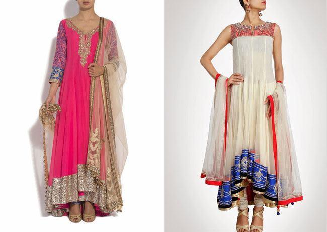 Floor Length Wedding Anarkali: Making a Sweeping Statement