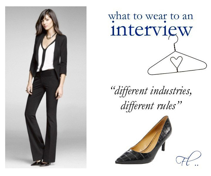 job-interview-outfits-different-industries-different-rules
