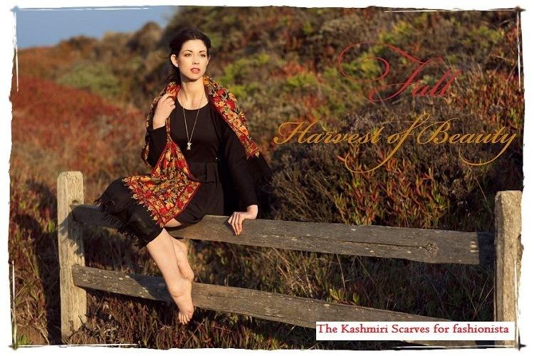 kashmiri scarves women