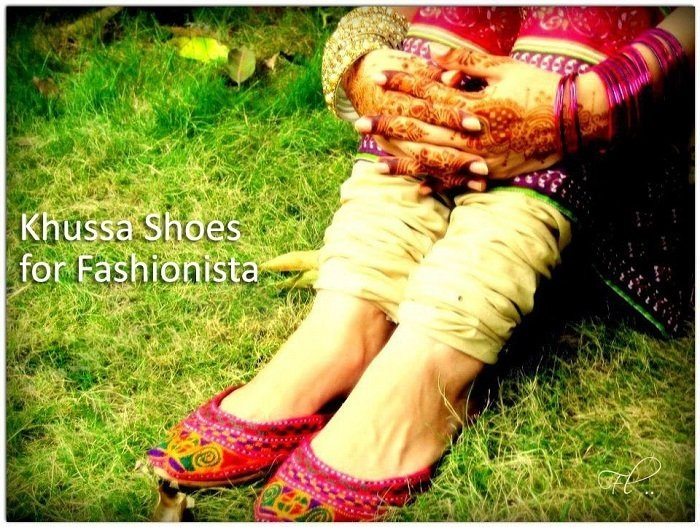 khussa shoes for Fashionista