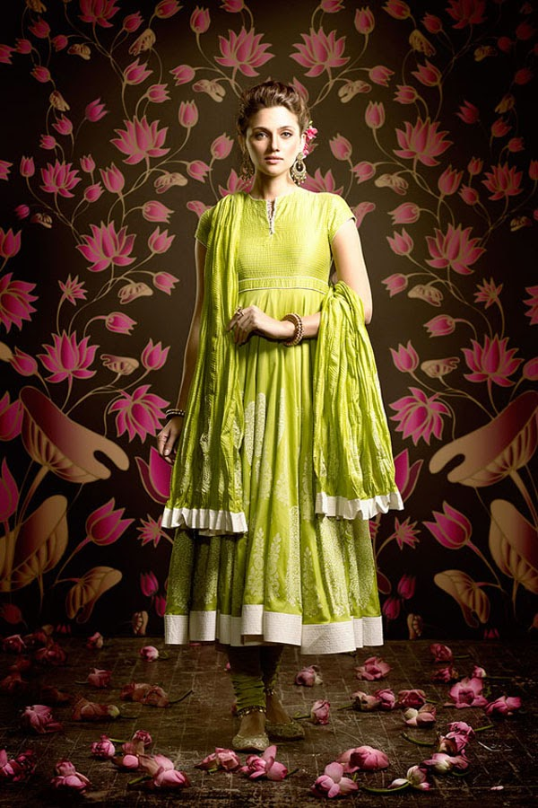 latest collection of  Biba by Rohit Bal