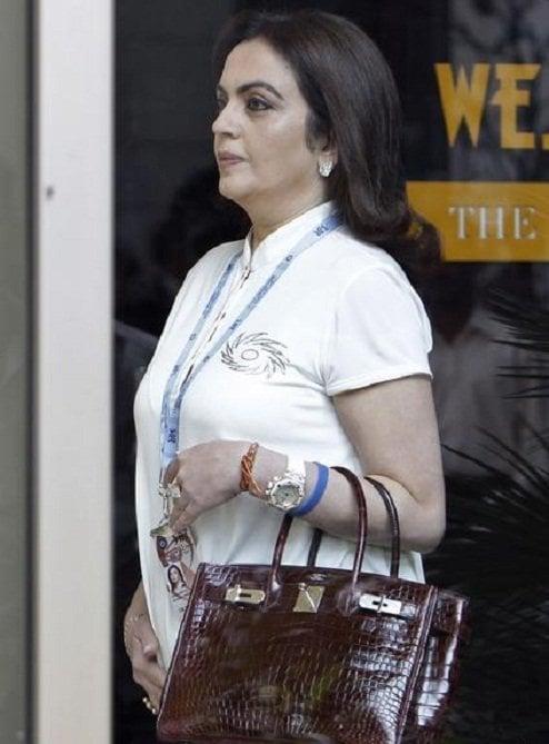 Nita Ambani The Fashionable Corporate India S First Lady