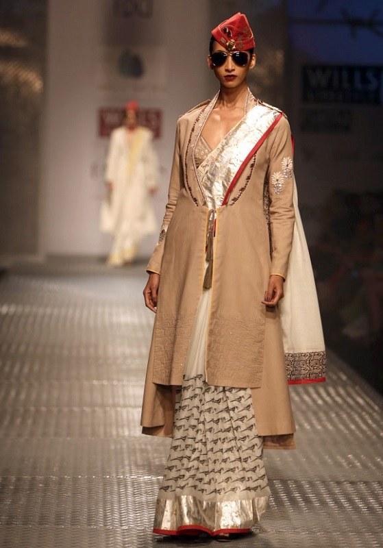 sarees and overcoat anju modi