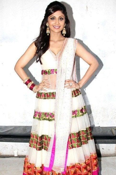 whitecolor Shilpa Shetty