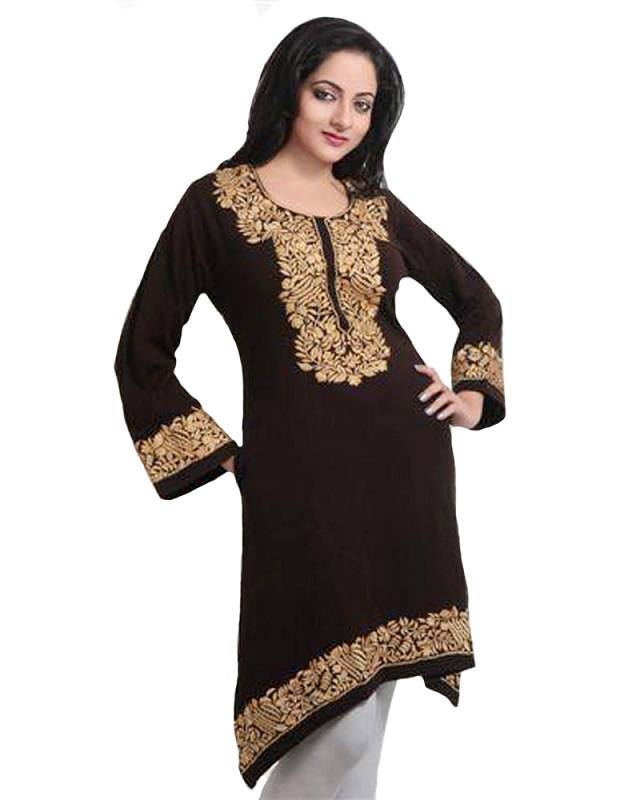 woolen kurti women india