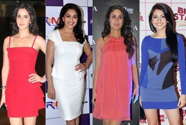 Bollywood Actresses Wardrobe