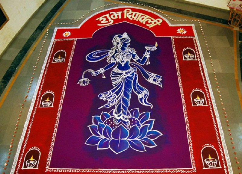Design of Rangoli Pattern