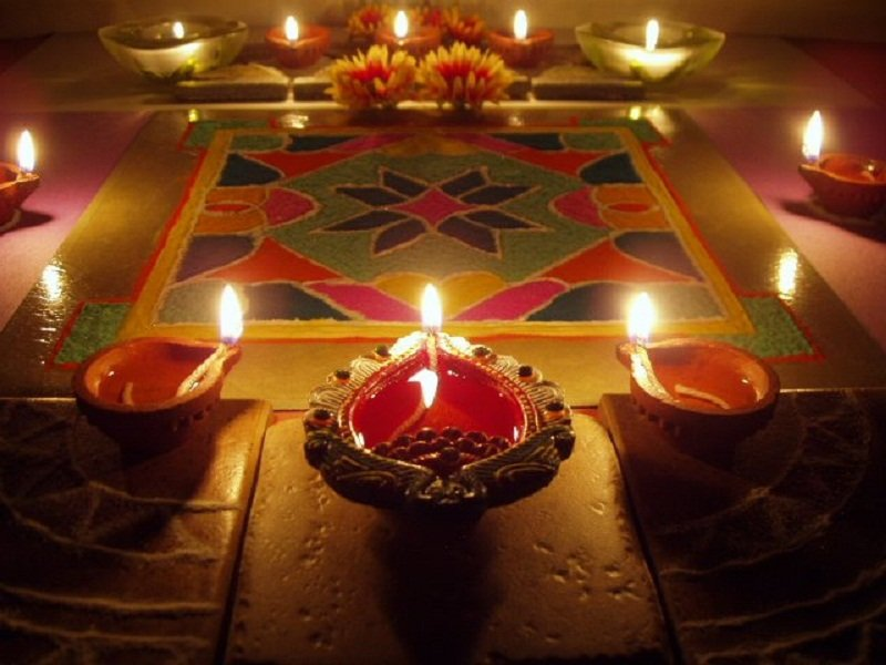Diwali rangoli patterns and designs