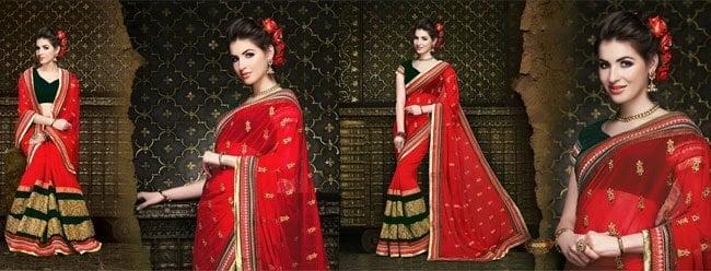 Ethnic Style Sarees
