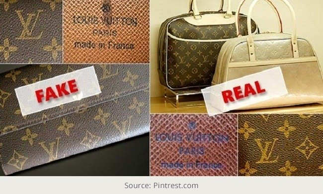 Spot a Fake Louis Vuitton Handbag