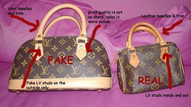 Faux Replica Designer Purses And Clothes Stay away from bags with tags