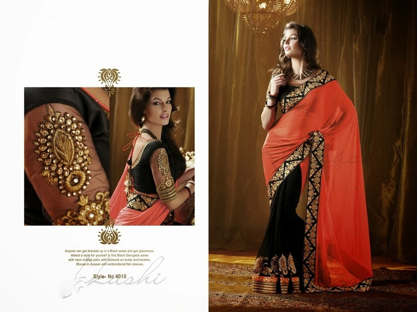 Half Saree Diwali Collection By Designers