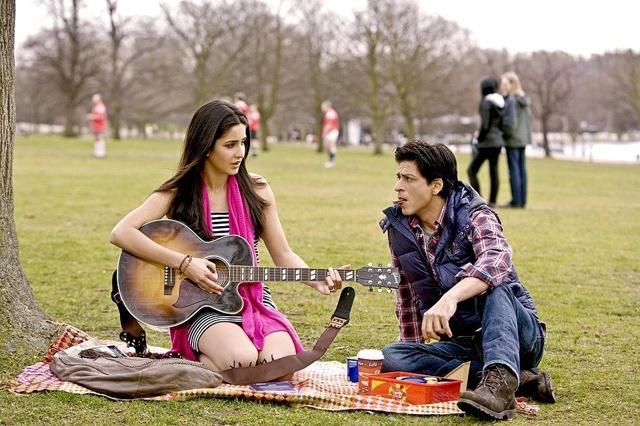 Katrina Kaif and Shahrukh Khan Jab Tak Hai Jaan