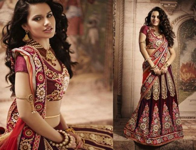 PartyWear Embroidered Net Velvet Lehenga