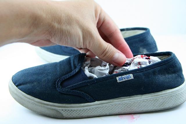 baking soda to remove shoe order