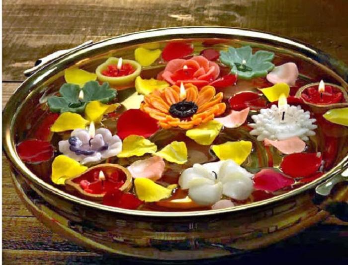 Designer Colorful Diyas