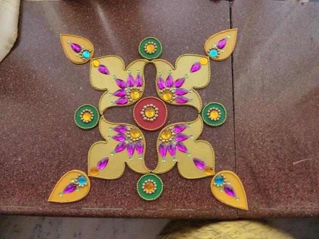 designer diwali rangoli designs