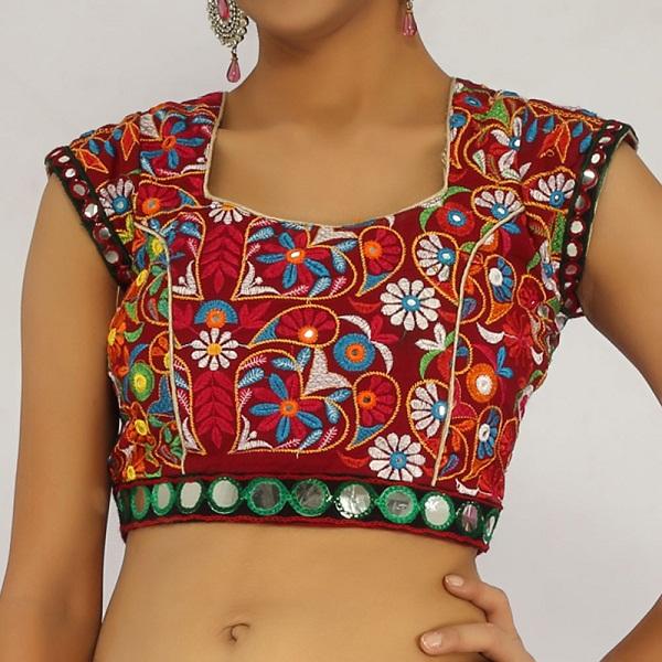 gujarati blouse
