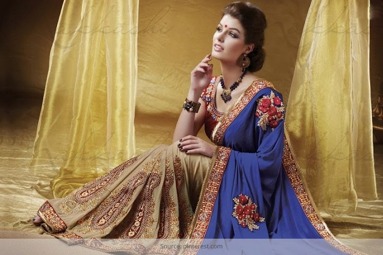 half saree fashion diwali collection