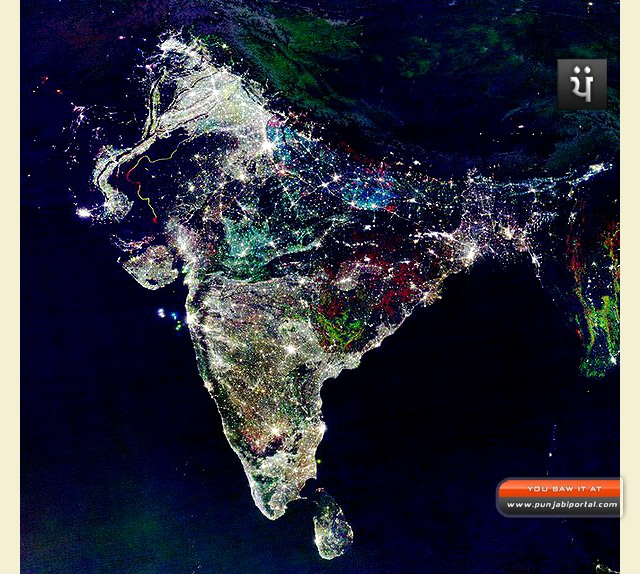 india diwali satellite