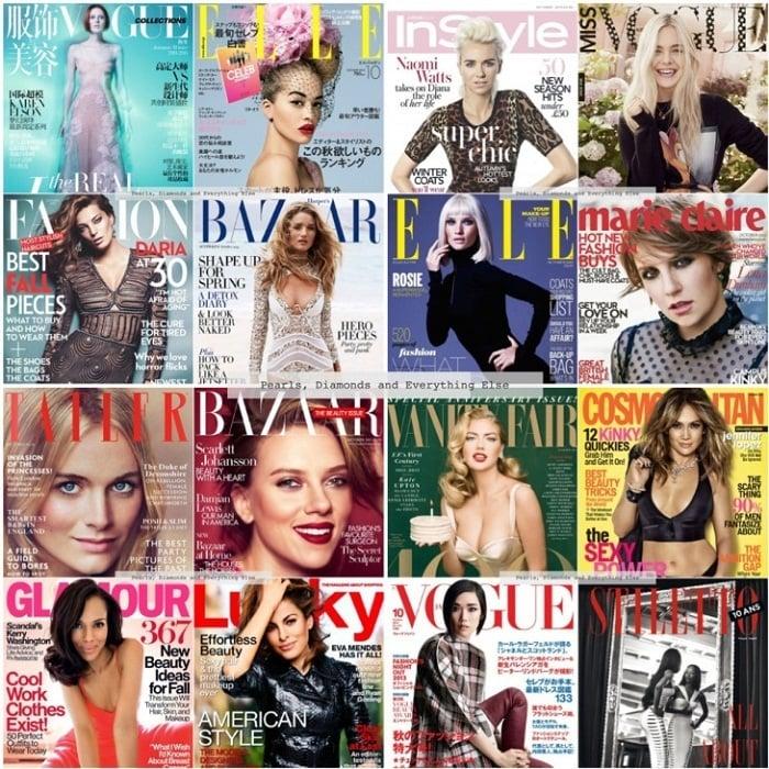 fashion magazine covers collage 55214 notefolio